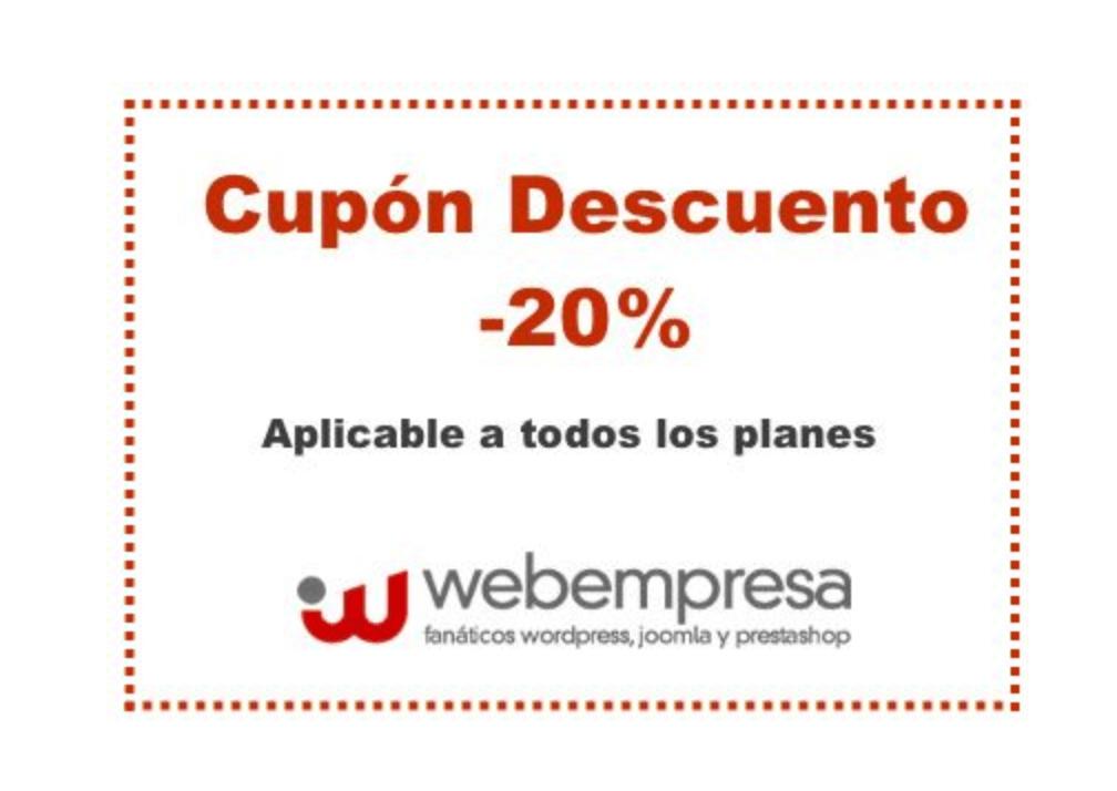 Cambio promoción Webempresa