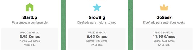 Oferta para Siteground