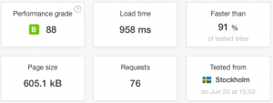 Velocidad carga Raiola Networks