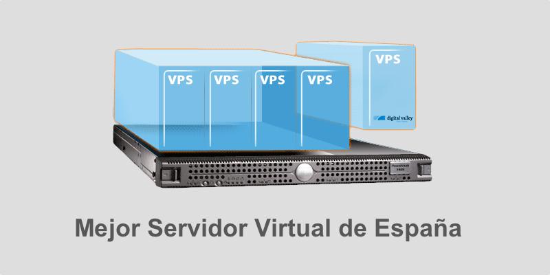Cual es el mejor Servidor Virtual de España