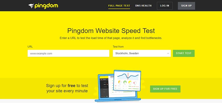 test-velocidad-pingdom