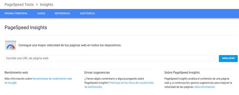 test-velocidad-web-google