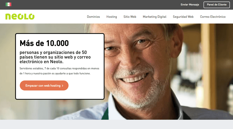 Hospedaje Web Neolo Mexico