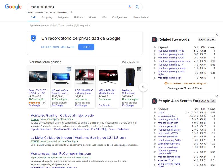 palabras-clave-google
