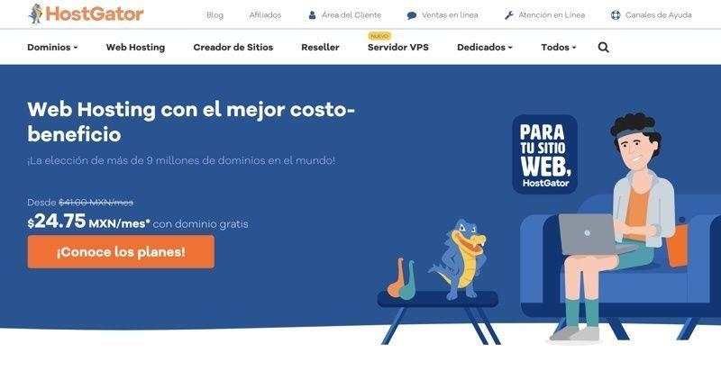 Ganador mejor hosting en México