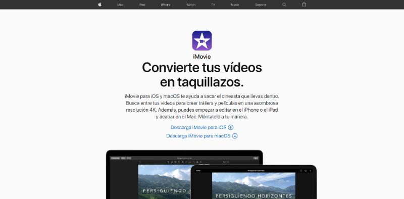 programas para editar videos en mac