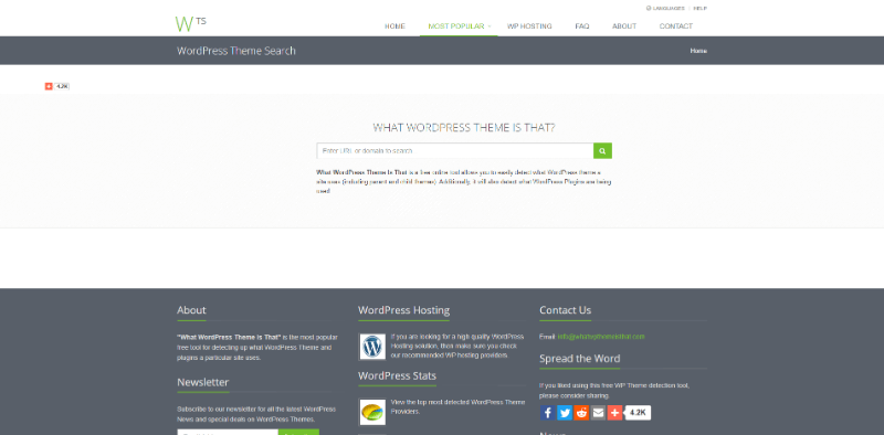 Cómo detectar la plantilla WordPress