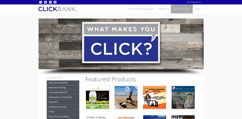 programa afiliados de ClickBank