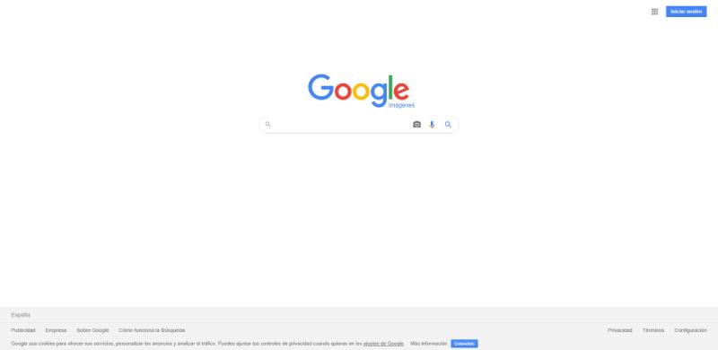 Buscar imágenes Google