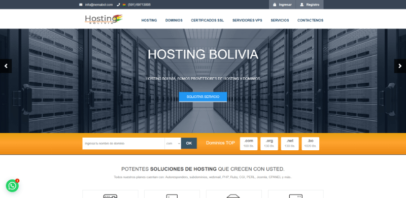 Hosting Bolvia