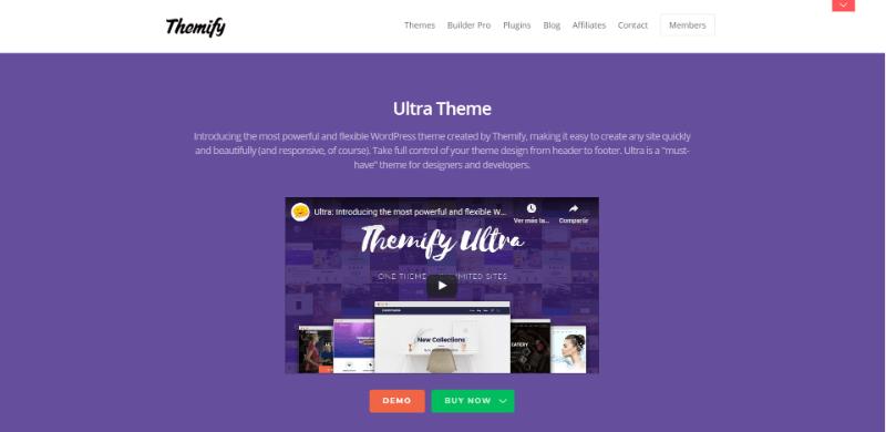 Ultra theme gratis