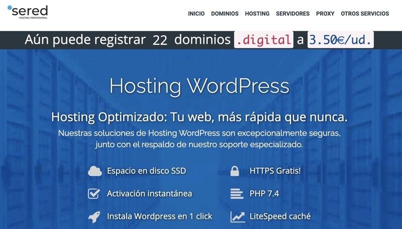Sered WordPress