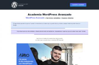 Academia WordPress Avanzado