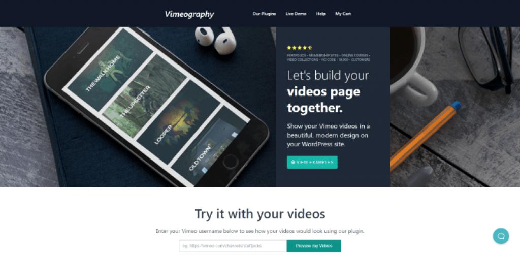 Vimeography