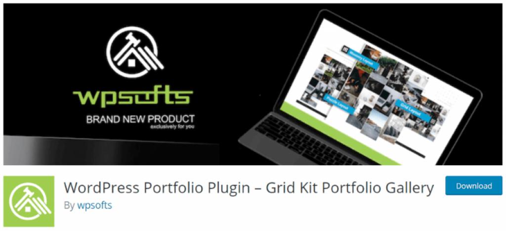 grid kit portfolio gallery