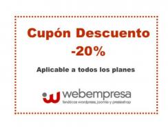Webempresa bajará sus descuentos a un 20%