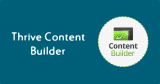 Thrive Content Builder, el mejor editor WordPress